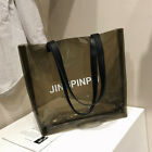 Women Clear PVC Transparent Shoulder Bag Handbag Tote Purse Fast Free Shipping