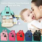 Mummy Maternity Nappy Diaper Baby Bag Large Capacity Travel Backpack + Leaf Ball