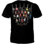 Rock and Roll Guitar Heaven Classic Music Legends Iconic T Shirt T0452MSSTZBLK