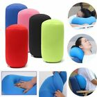 Orthopedic Round Cylinder Neck Support Roll Pillow Memory Foam Reduce Back Pain