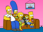 the simpsons family canvas wall art Wood Framed Ready to Hang XXL ,