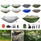 Double Outdoor Person Travel Camping Hanging Hammock Bed w/ Mosquito Net Set on eBay