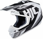 HJC Adult White/Black CS-MX 2 Dakota MC-10 Dirt Bike Helmet