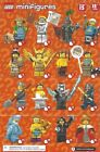 The LEGO Minifigure Collection 71011 Series 15 U-Pick Figure & Accessories
