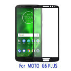 For Motorola Moto G6 Plus Ultra Thin FULL COVER Tempered Glass Screen Protector