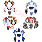 Stickers Decal Graphics Kit for CRF70 XR70 Dirt Pit Bike 150cc 160cc 140cc SDG