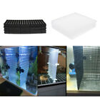 10 Pack Aquarium  Tank Filter Isolate Board Grid Tray Egg Crate Bottom