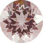 Natural Extra Fine Morganite - Round - Mozambique - AAA+ Grade