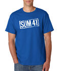 SUM 41 T-Shirt Punk Rock Band 1990 Classic Logo Concert Tour Blink 182 S-6XL Tee