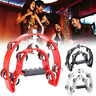 More images of A59A Musical Tambourine Double Row Party Jingles Music Instrument Kids Gifts