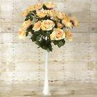 192 EXTRA Large OPEN ROSES - 8 bushes - Wedding Flowers Centerpieces Wholesale