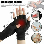 Anti Arthritis Fiber Sports Health Half Finger Gloves Blood Circulation Recovery $4.99 USD on eBay