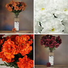 4 bushes - California ZINNIA Artificial CRAFTS Wedding Flowers for Centerpices