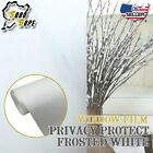 Home Apartment Privacy Reflective | Frosted White Window Film Tint Glass Sticker