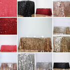 RECTANGULAR TABLECLOTH Big Payettes Sequines Wedding Party Linens Decorations