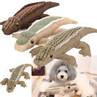 Pet Dog Puppy Cat Chews Toy Plush Crocodile Braided Molar Tooth Dental Play Toys