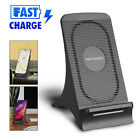 10W Fast Qi Wireless Charger w/ Cooling Fan Stand Pad Mat Charging Dock Station