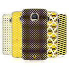 HEAD CASE DESIGNS BUSY BEE PATTERNS GEL CASE FOR MOTOROLA PHONES