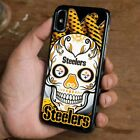 PITTSBURGH STEELERS SKULL iPhone 6/6S 7 8 Plus X/XS Max XR Case Cover $15.9 USD on eBay