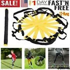 Speed Agility Training Ladder 128 Rung 15Ft Soccer Football Fitness Equipment A