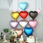 15-Inch wide Hearts Mylar Foil Balloons Party Wedding Event Decorations Supplies