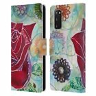 OFFICIAL LAUREN MOSS FLOWERS LEATHER BOOK WALLET CASE FOR SAMSUNG PHONES 1