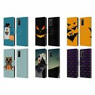OFFICIAL PLDESIGN HALLOWEEN LEATHER BOOK WALLET CASE FOR SAMSUNG PHONES 1