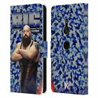 OFFICIAL WWE BIG SHOW LEATHER BOOK WALLET CASE FOR SONY PHONES 1