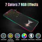 RGB Colorful Extended Mouse Pad LED Large Gaming Keyboard Pad Mat 800MM x 300MM