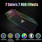 Kyпить RGB Colorful Extended Mouse Pad LED Large Gaming Keyboard Pad Mat 800MM x 300MM на еВаy.соm