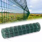 Garden Fence 7.5x10cm Pvc Coated Welded Mesh Wire Aviary Galvanised Wire Fencing
