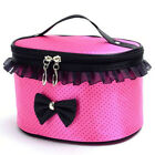 Womens Retro Makeup Bag Cosmetic Case Hanging Organizer Storage Travel Kit Pouch