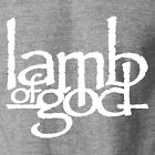 LAMB OF GOD Logo T-Shirt Metal Band Death Rock Concert Tour Fan Gear S-6XL Tee image