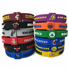 NBA Silicone Bracelet Basketball Team Adjustable Wristband Strap on eBay