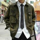 Men's Trendy Camouflage Jacket Korean Loose BF Jacket Wild Outwear Waist Length