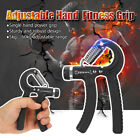 Adjustable 5-60KG Forearm Exerciser Heavy Grip Hand Gripper Strength Training image