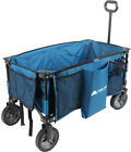 Collapsible Folding Wagon Cart Outdoor Utility All Terrain Camping Beach Hiking