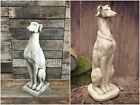 Whippet and Greyhound Dog Stone Statue Ornaments