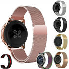 Samsung Galaxy Watch 46mm 42mm Active 1 2 40mm Bands Stainless Steel Metal Strap