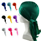 Riding Outdoor Satin Wave Cap Men Women Doo Rag Hat Bonnet Hair Loss Head Scarf for sale  Shipping to Canada