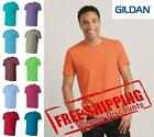 Gildan Mens Blank Short Sleeve Cotton Softstyle T Shirt 64000 up to 4XL image
