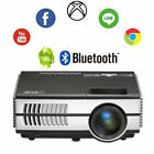 HD Bluetooth Android WiFi Projector Home Theater Miracast Airplay Apps USB HDMI