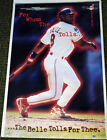 Albert Belle FOR WHOM THE BELLE TOLLS Cleveland Indians 1996 Costacos POSTER on Ebay
