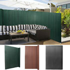 Pvc Garden Fence Privacy Panel Screen Double Faced Protector Panels W Fixing Kit