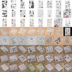 Silicone Clear Stamp Rubber Scrapbook Embossing Stencil Transparent Xmas Craft