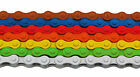 "Colored Fixed Gear Bike Chain 1/8"" 96L"