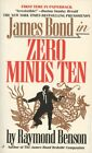 Zero Minus Ten (Like New) James Bond Raymond Benson (Jove) 1998 Spy $12.97 CAD on eBay