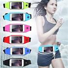 Sports Running Jogging GYM Waist Band Belt Pouch Case Holder For iPhone Samsung image