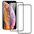For iPhone X XR XS Max - FULL COVER 9D Tempered Glass Screen Protector [2-Pack] <br/> 🔥Premium Quality🔥100% Touch Sensitive🔥Perfect Fit🔥