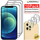 For iPhone 12 mini 11 Pro X XR XS Max Caseswill Tempered Glass Screen Protector